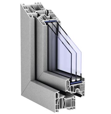 Kömmerling Kunststoffenster Dreifachverglasung